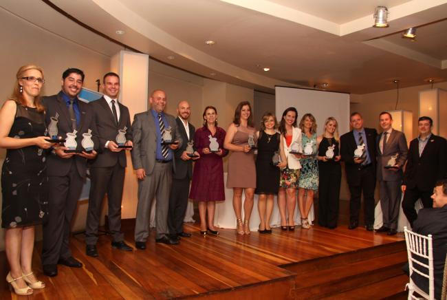 PMI-RS premia voluntários e diretorias em 2014