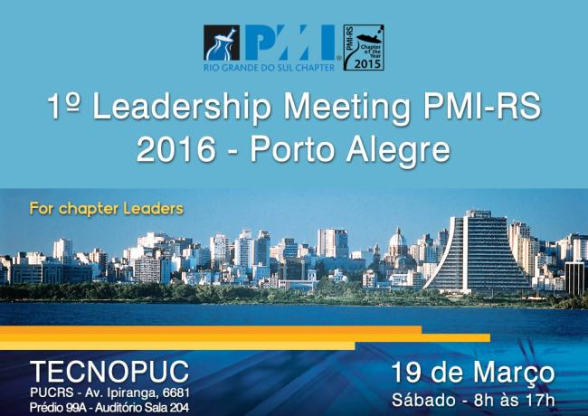 1º Leadership Meeting foi realizado no Estado