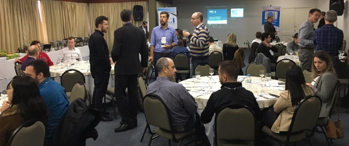 Almoço com Projetos promoveu debate sobre comunicação em projetos