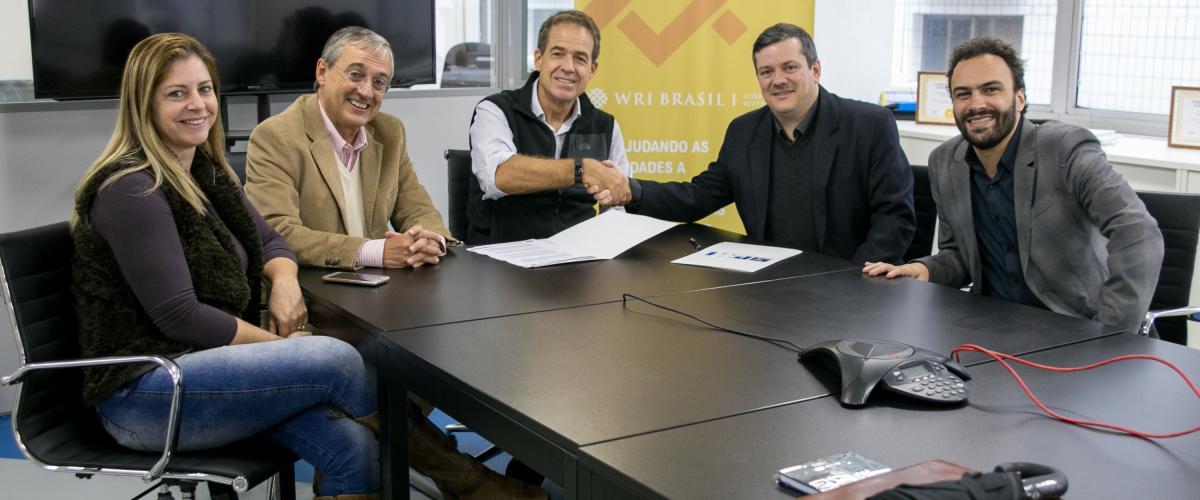 PMIRS assina convênio com WRI Brasil