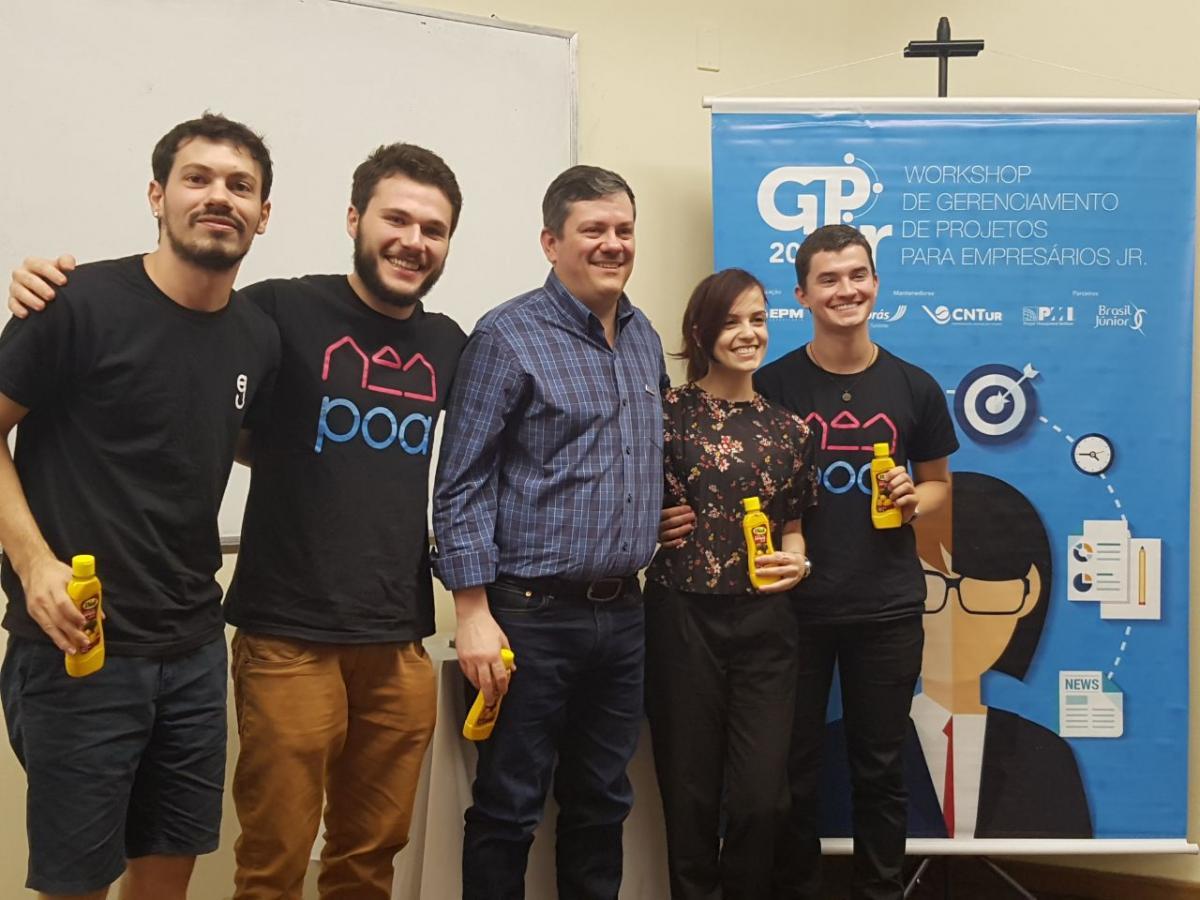 Experiências e cases de sucesso foram compartilhados no GPjr Sul