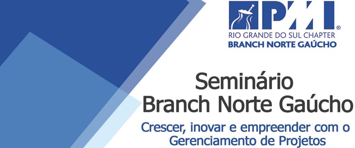 Branch Norte realizará 1º Seminário de Gerenciamento de Projetos