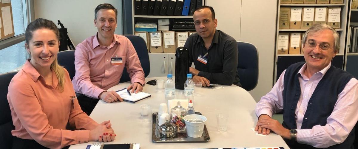 PMIRS recebe representantes da Interact Solutions