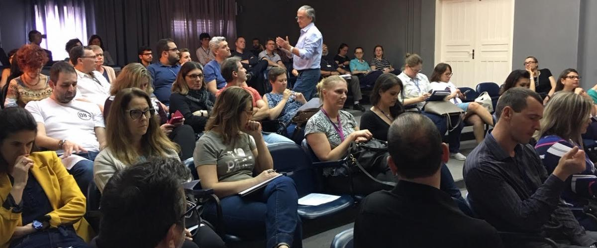 PMIRS realizou palestra na Escola de Gestão Pública