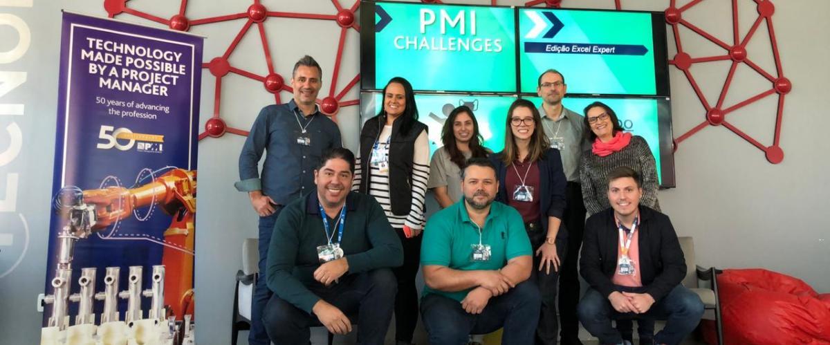 Desafio aceito no PMI Challenges