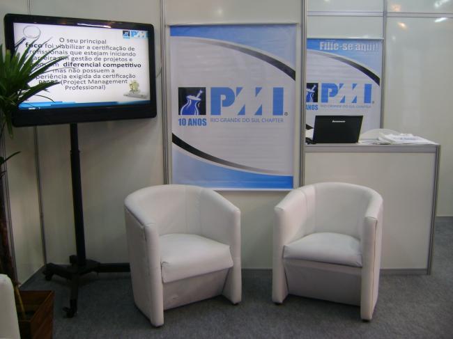 PMI-RS participou da Feira do Empreendedor 2012 do Sebrae
