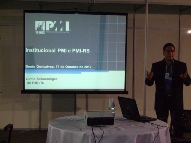 PMI-RS participou do XXXII Encontro Nacional de Engenharia de Produção