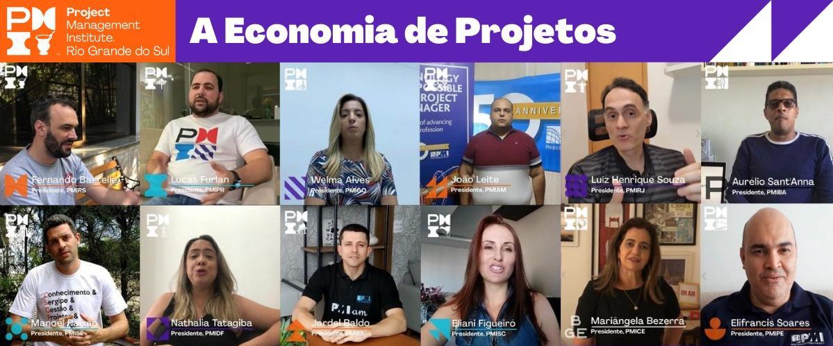 Abastecendo a Economia de Projetos através da colaboração entre Capítulos