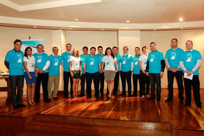 Homenagens e apresentação da futura diretoria marcaram a Festa de encerramento