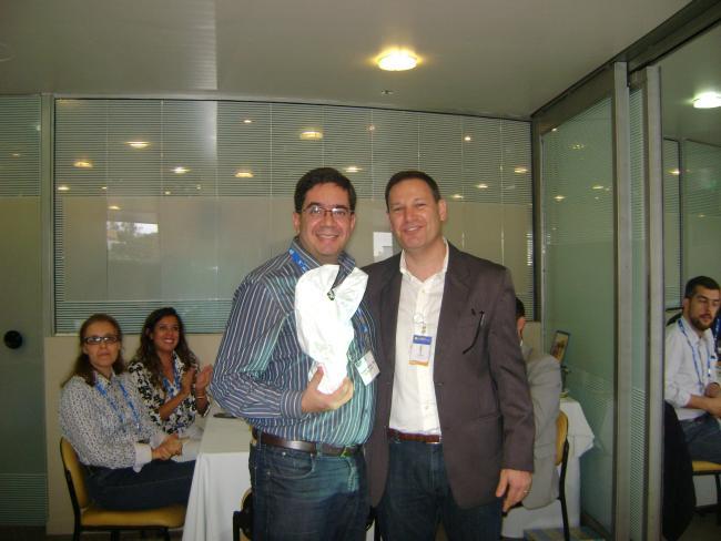 Thiago Regal da Silva contou sobre o piloto e sua experiência na certificação durante o Almoce com o PMI de maio em Porto Alegre.