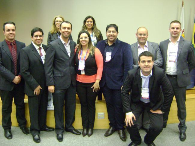 Equipe PMDay e diretores do PMI-RS